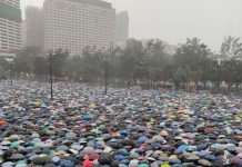 Hong Kong protesters show no sign of backing down in the face of countless threats