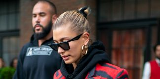 Hailey Bieber Gets A Mysterious Neck Tattoo A Month Before Her Wedding