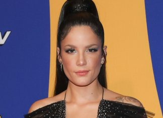 Halsey Just Rocked Rainbow Hair Like You've Never Seen Before