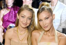 Bella & Gigi Hadid Wore Matching Sister Manicures To The VMAs