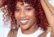 Watch One Woman Transform Her Bleach-Damaged Curls To Vivacious Red