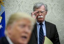 John Bolton left because Trump wouldn't let him start a war