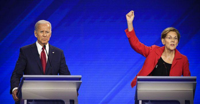 Joe Biden and Elizabeth Warren walked away with the most speaking time during the third Democratic debate