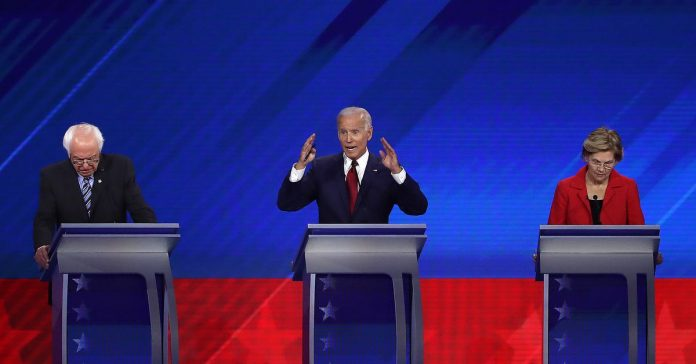 Joe Biden, Bernie Sanders, and Elizabeth Warren really do talk about trade differently