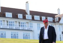 The US postpones a military deal amid concerns about stays at a Scottish Trump resort