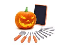 Here Are All The Tools (And Snacks) To Fulfill You Pumpkin-Carving Party Needs