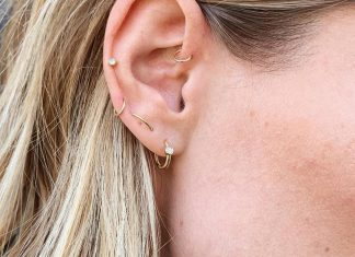 Orbital Piercings Are Our Favorite Fall Accessory