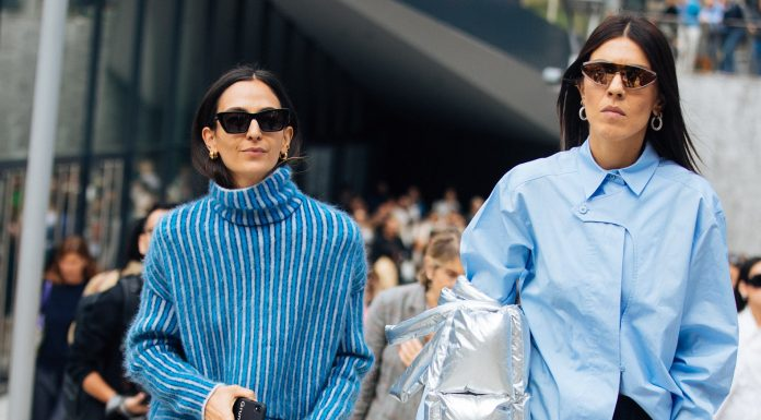 The Top Milan Street Style Trends, From Leather To Mixed Prints