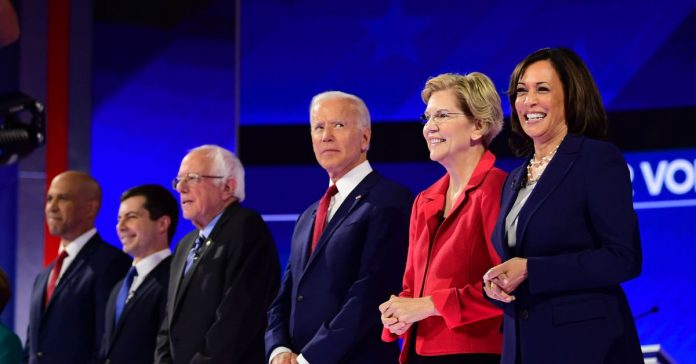 Democratic presidential candidates are holding a 6-hour forum on gun violence