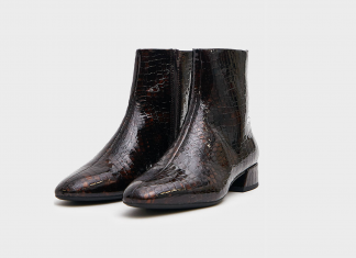 Take A Walk On The Wild Side In These 18 Croc-Effect Boots