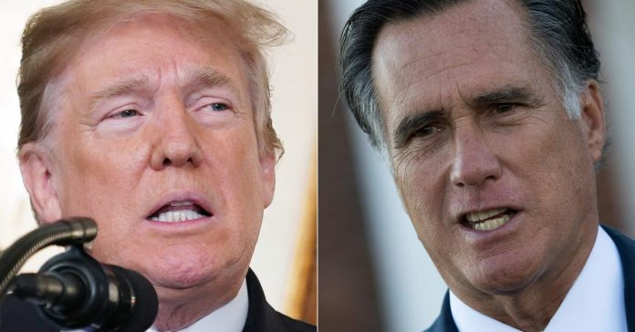 Romney slammed Trump on Ukraine and China. Now Trump wants Romney impeached.
