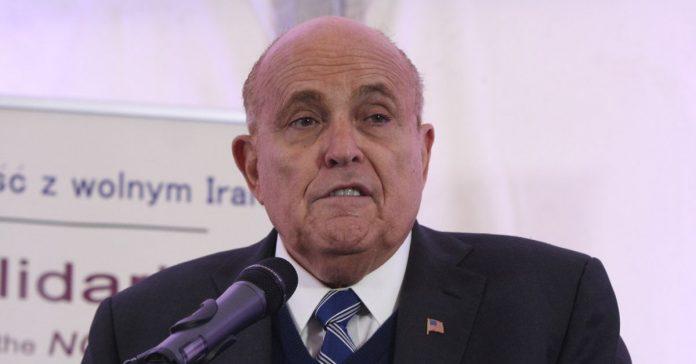 Rudy Giuliani's fixers for the Ukraine caper just got arrested