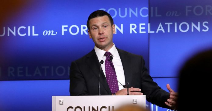 Acting DHS Secretary Kevin McAleenan just resigned