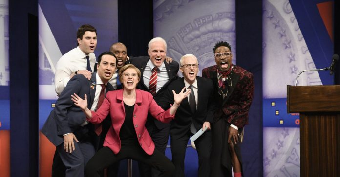 SNL's cold open reimagines the presidential LGBTQ forum as a drag ball