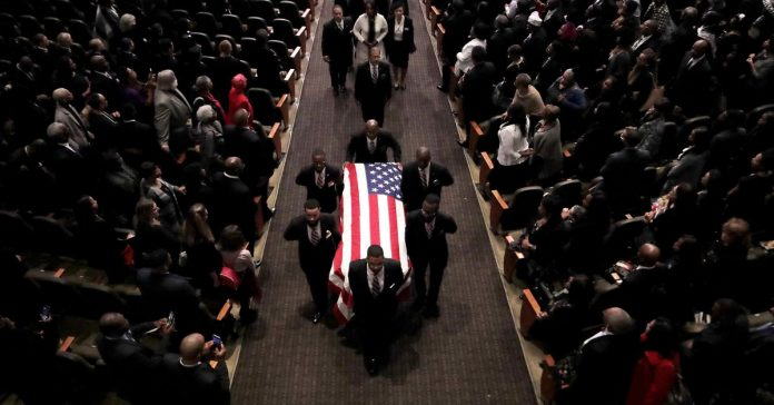 Rep. Elijah Cummings's funeral featured a powerful indictment of Trump's character