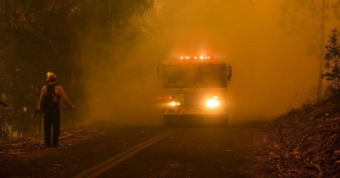 Wildfires are making California's deadly air pollution even worse
