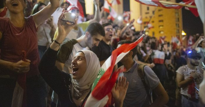 Lebanon's prime minister submits his resignation amid mass protests