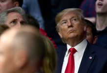 At a UFC event, Trump receives second round of boos in a week