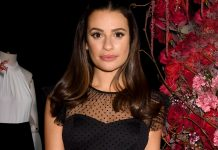 Lea Michele's Blunt, Mid-Length Cut Is Perfect For Party Season