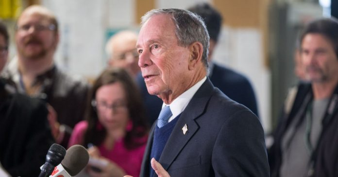 Michael Bloomberg has changed his mind on running for president yet again