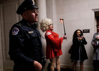 A Drag Queen Tried To Sashay Her Way Into Trump's Impeachment Hearings