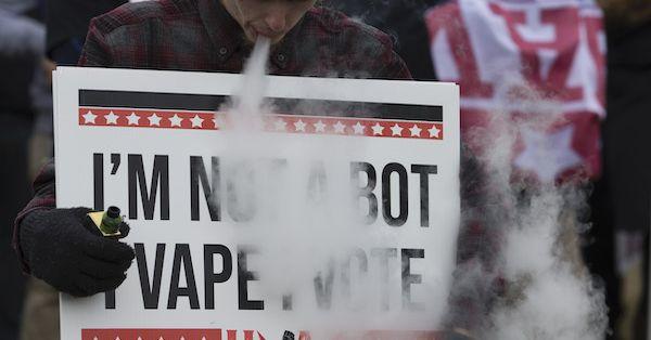 Vox Sentences: Vap ban's up in smoke