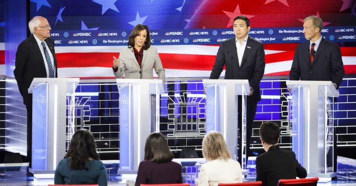 It took a debate with all-female moderators to ask Democrats about paid family leave