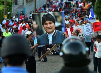 "Bolivia's interim government names former President Evo Morales a ""terrorist"""