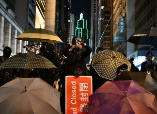 Hong Kong demonstrators see a massive turnout on the six month anniversary of protests