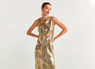 18 Gold Dresses To Light Up In This Holiday Season