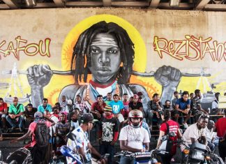 A year of protest, as seen through street art