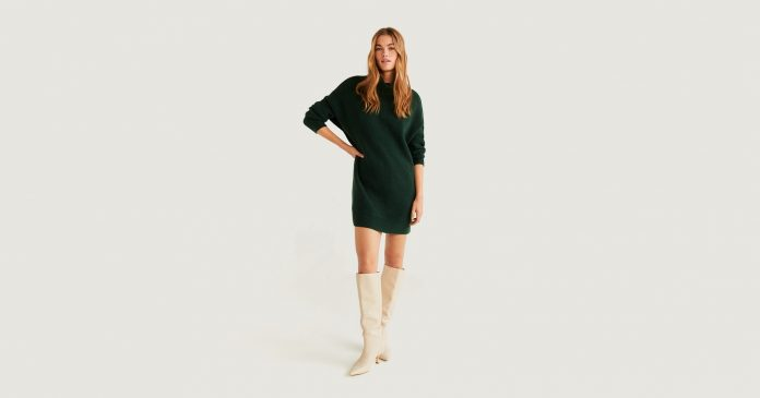 23 Sweater Dresses To Fight The Cold In This Winter