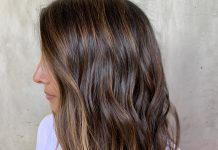 Honey Brown Is The Sunniest Winter Hair Color