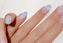 """""""Cloud Nails"""" Are Trending For Winter — & They're So Dreamy"""