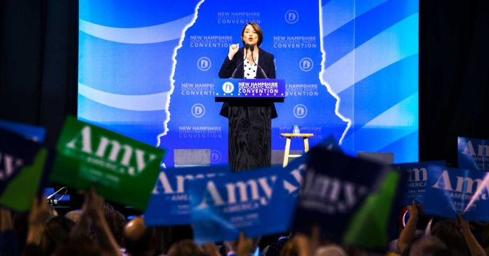 Amy Klobuchar is tempting some Biden supporters in New Hampshire to change their minds