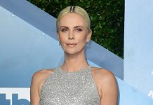Charlize Theron Wore Diamonds In Her Hair For The Most Relatable Reason