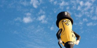 Mr. Peanut's death, explained
