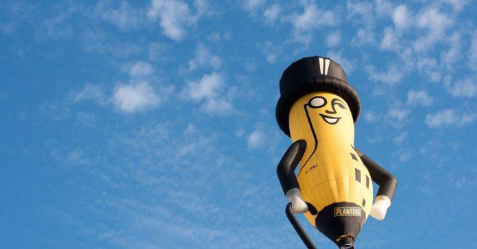 Mr. Peanut's death, explained