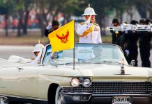 Thailand's playboy king isn't playing around
