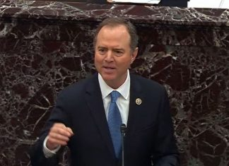"""Schiff ends day in the impeachment trial by telling the Senate, """"If right doesn't matter, we're lost"""""""