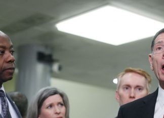 """Senate Republicans' disingenuous outrage over Schiff's """"head on a pike"""" comment, briefly explained"""