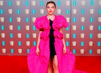 The BAFTAs Red Carpet Was Full Of Big, Bright Colors
