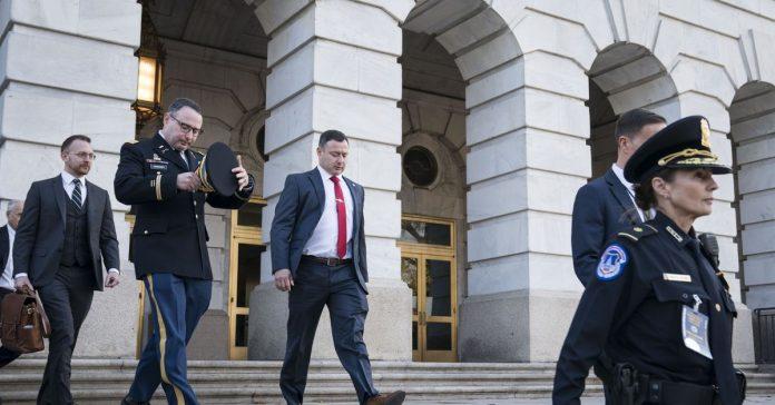 Democrats cry foul on Trump's dismissals of Vindman and Sondland