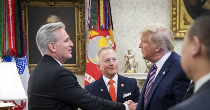 Kevin McCarthy refutes the idea he has legit concerns about corruption in a single Instagram post
