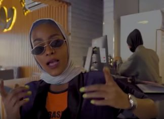 """A female Saudi rapper is facing possible arrest over her """"Mecca Girl"""" music video"""
