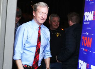 Tom Steyer drops out of the presidential race