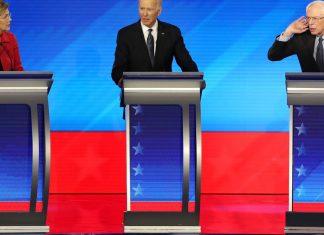Polls show Biden and Sanders are probably going to split Warren's voters