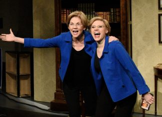 Sen. Elizabeth Warren makes a surprise appearance on SNL