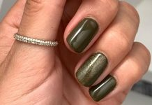 Proof That Green Is The Perfect Transitional Nail Color