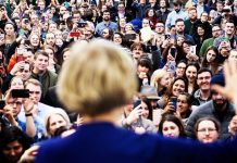 Elizabeth Warren did better with college-educated white men than with working-class women